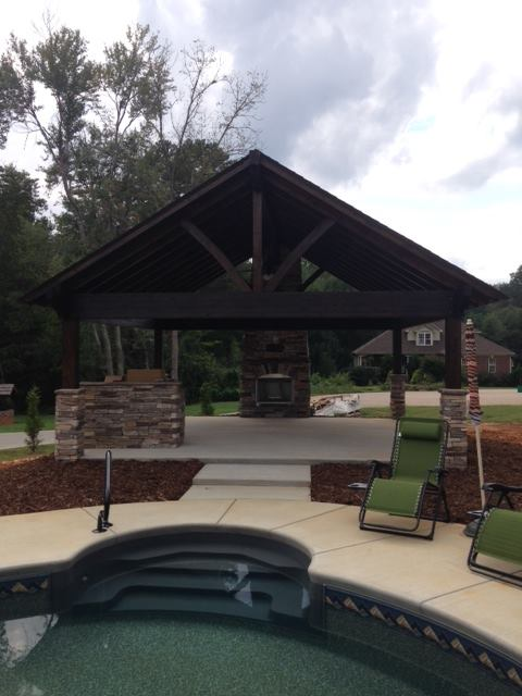 Outdoor Fireplaces Tab Construction Inc